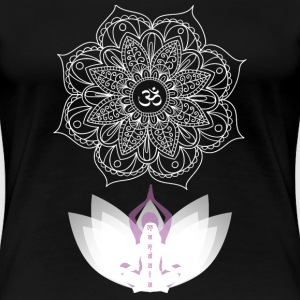 Yoga - Awesome yoga t-shirt for yoga lovers - Women's Premium T-Shirt
