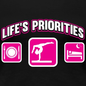 Athletic - Athletic,sleeping Life's priorities - Women's Premium T-Shirt