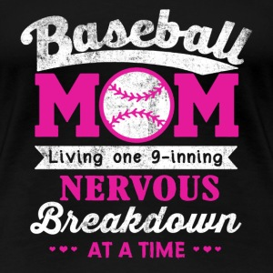 Baseball mom - Proud to be a baseball mom - Women's Premium T-Shirt