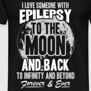 Epilepsy - I love someone with epilepsy - Men's Premium T-Shirt