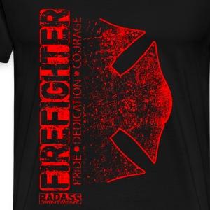 Fire department t shirts spreadshirt for Fire department tee shirt designs