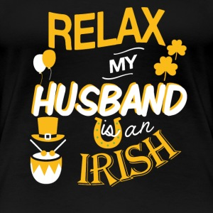 Irish husband - My husband is an Irish - Women's Premium T-Shirt