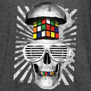 Rubik's Cube Skull With Sunglasses - Women's Flowy Tank Top by Bella