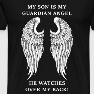Son - My son is my guardian angel - Men's Premium T-Shirt