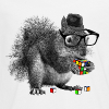 Rubik's Cube Squirrel - Kids' Premium Long Sleeve T-Shirt