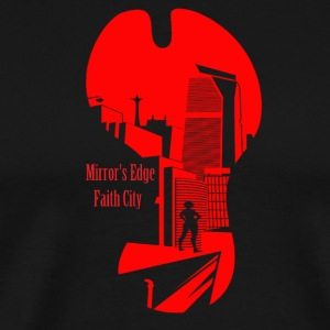 Mirror's Edge Faith City - Men's Premium T-Shirt