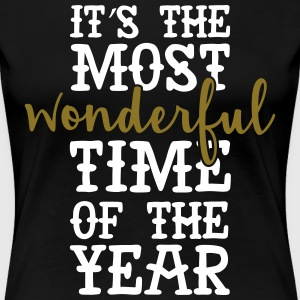It's The Most Wonderful Time Of The Year T-Shirts - Women's Premium T-Shirt