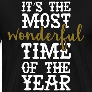 It's The Most Wonderful Time Of The Year T-Shirts - Men's Premium T-Shirt