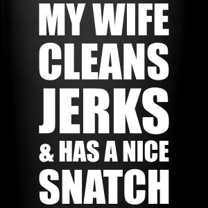 MY WIFE CLEANS JERKS& HAS Mugs & Drinkware - Full Color Mug