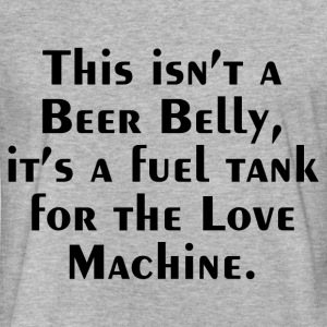 FUEL TANK FUNNY SAYING T-Shirts - Fitted Cotton/Poly T-Shirt by Next Level