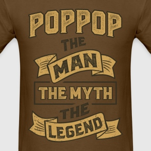 Pop Pop The Myth T-shirts Gifts - Men's T-Shirt