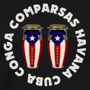 conga comparsas - Men's Premium T-Shirt
