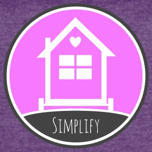 Tiny House - Simplify Your LIfe T-Shirts - Women's Vintage Sport T-Shirt