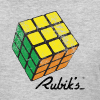 Rubik's Cube Solved Colourful Vintage - Women's T-Shirt