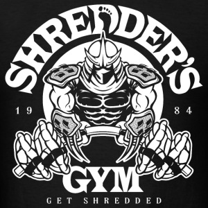Shredder's Gym - Men's T-Shirt