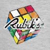 Rubik's Cube Distressed and Faded - Baby Contrast One Piece