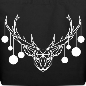 AD Minimal Xmas Deer Bags & backpacks - Eco-Friendly Cotton Tote