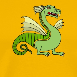 Green Chinese Dragon - Men's Premium T-Shirt