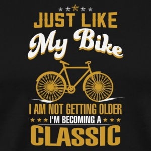 Just like my Bike - Men's Premium T-Shirt