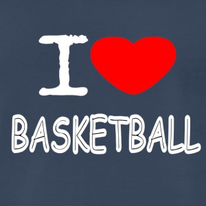 I LOVE BASKETBALL - Men's Premium T-Shirt