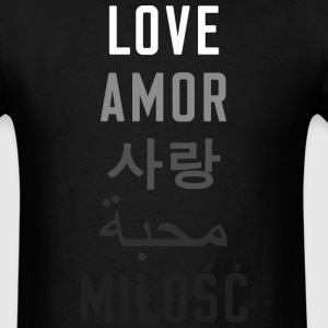 Love is Universal  - Men's T-Shirt