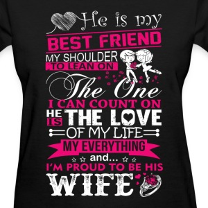 Husband - My husband is my best friend - Women's T-Shirt