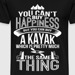 Kayak - Buy a kayak which is the same as happiness - Men's Premium T-Shirt