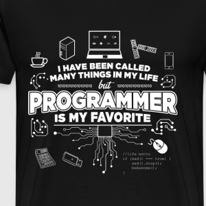 Programmer - I'm called programmer - Men's Premium T-Shirt
