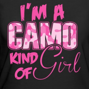 Camo - I'm a Camo kind of girl - Women's 50/50 T-Shirt