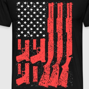 2nd Amendment - America flag T-shirt - Men's Premium T-Shirt