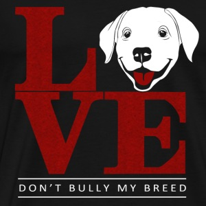 Labrador Retriever owner - My love - Men's Premium T-Shirt