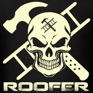 T-shirt for Roofer - Ladder and hammer - Men's T-Shirt