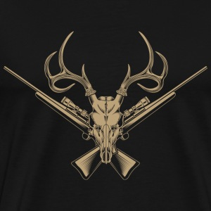 Limited edition T-shirt for deer hunter - Men's Premium T-Shirt