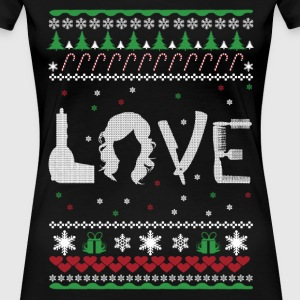 Love - Ugly Christmas sweater - Women's Premium T-Shirt