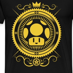 Mushroom symbolism - Circle T-shirt - Men's Premium T-Shirt