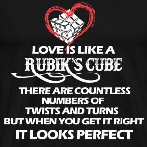 Rubik's cube - There are countless numbers - Men's Premium T-Shirt