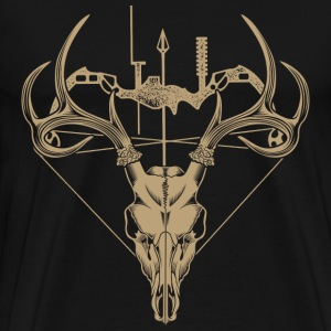 T-shirt for deer hunter - Men's Premium T-Shirt