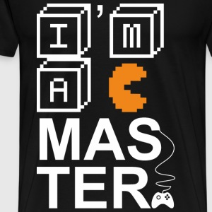 T-shirt for Gamer - I am a master - Men's Premium T-Shirt