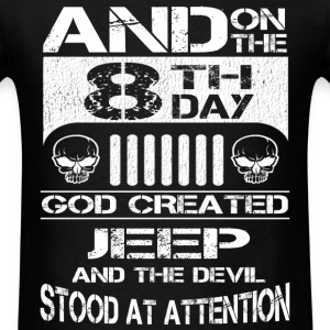 Jeep - The devil stood at attention - Men's T-Shirt