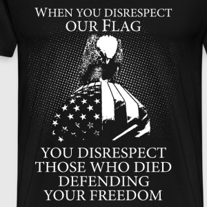 Military - Those who died defending your freedom - Men's Premium T-Shirt
