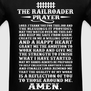 Railroader - A willing spirit and a happy heart - Men's T-Shirt