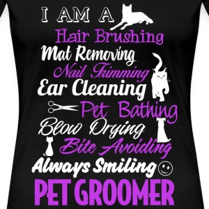 Pet groomer - Hair brushing, mat removing - Women's Premium T-Shirt