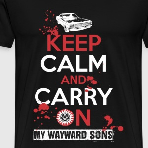 My Wayward sons - Keep calm and carry on - Men's Premium T-Shirt