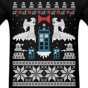 Ugly Christmas sweater for game lover - Men's T-Shirt