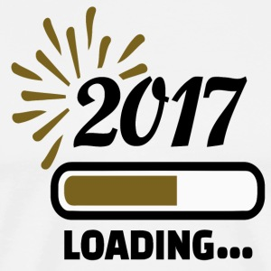 Happy New Year 2017 Loading - Men's Premium T-Shirt