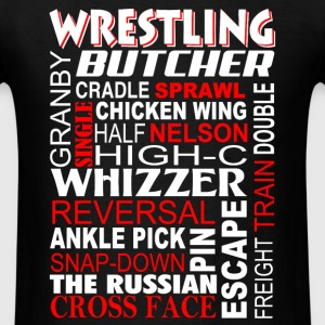 Wrestling - Butcher Freight train double - Men's T-Shirt