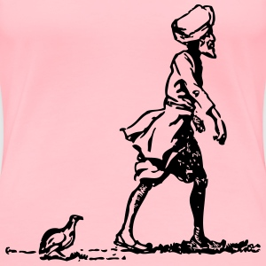 Sikh followed by partridge - Women's Premium T-Shirt