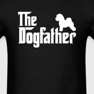 Bichon Frise DogFather T-Shirt  - Men's T-Shirt