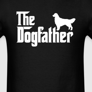 Golden Retriever DogFather T-Shirt  - Men's T-Shirt