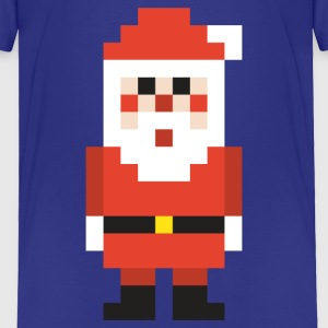 8-bit Pixel Santa Claus Baby & Toddler Shirts - Toddler Premium T-Shirt